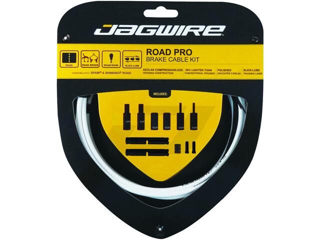 Jagwire Road Pro Kit de câbles de frein, white